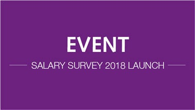 Event - Salary Survey Launch
