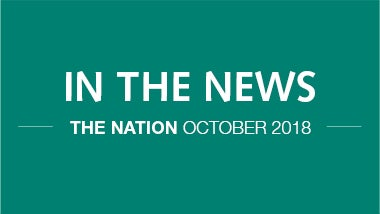 The Nation 2018 news coverage